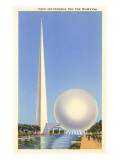 Trylon and Perisphere, New York World's Fair, 1939 Láminas