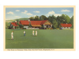 Golf Course, Chenango, Binghamton, New York Poster