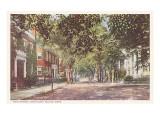 Main Street, Nantucket, Massachusetts Kunst
