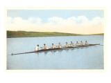 Vintage Rowing Crew Affiches