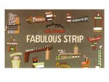 Fabulous Strip, Las Vegas,  Nevada, Hotel Signs Posters