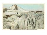 Elliot Glacier, Mt. Hood, Oregon Poster