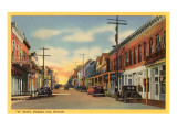C Street, Virginia City, Nevada Poster