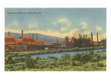 Bethlehem Steel, Bethlehem, Pennsylvania Stampe