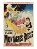 French Roller Coaster Poster Affischer
