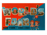 New York World's Fair, 1964-1965 Plakater