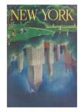 Travel Poster, Central Park, New York City Art