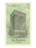 The Mayo Hotel, Tulsa, Oklahoma Poster