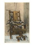 Electric Chair, Sing Sing, New York Prints