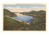Sacandaga Reservoir Dam, Adirondacks, New York Poster