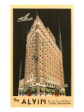 The Alvin Hotel, Tulsa, Oklahoma Affiches