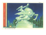 Statue of Speed, New York World's Fair, 1939 Póster