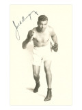 Autographed Photo of Jack Dempsey Affischer