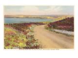 Sesachacha Pond, Polpis Road, Nantucket, Massachusetts Stampe