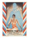 Princess Tam-Tam, Josephine Baker Reproduction giclée Premium