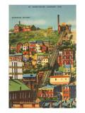 Mt. Adams Incline, Cincinnati, Ohio Poster