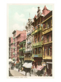 Mott Street, ciudad de Nueva York Láminas