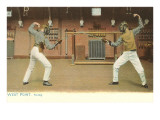 Fencing, West Point, New York Print