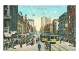 Main Street, Rochester, New York Poster