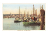 Fishing Boats, Nantucket, Massachusetts Poster