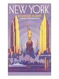 New York Souvenir Album Plakater