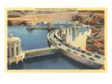 Transcontinental Highway over Boulder Dam, Nevada Art