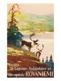 Visit Finnish Lappland Posters