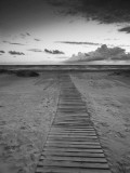 Beach at Dusk, Liepaja, Latvia Photographic Print by Ian Trower