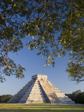 El Castillo, Chichen Itza, Yucatan, Mexico Reproduction photographique par Michele Falzone