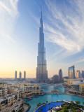 United Arab Emirates (UAE), Dubai, the Burj Khalifa Fotoprint av Gavin Hellier