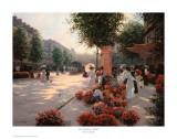 Morning Flower Market, Paris Posters by Christa Kieffer