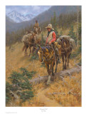 Mountain Trail Posters by Jim Rey