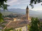 Pacentro, Nr. Sulmona, the Abruzzo, Italy Fotografie-Druck von Peter Adams