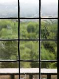 View Through Old Window Panes Fotografisk trykk av Felipe Rodriguez