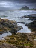 UK, England, Northumberland, Bamburgh Castle Photographic Print by Alan Copson