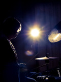 Drumkit Photographic Print by David Ridley