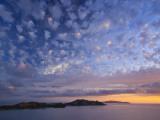 View of Northern Yasawa Island from Matacawalevu Island, Yasawa Chain, Fiji Fotografie-Druck von Michele Falzone