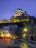 Chateau Frontenac, Quebec City, Quebec, Canada Photographic Print by Demetrio Carrasco