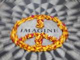 Mosaic Commemorting John Lennon, Strawberry Fields, Central Park, Manhattan, New York City, USA Valokuvavedos tekijänä Jon Arnold