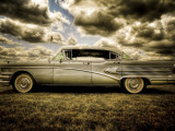 58 Roadmaster Lámina fotográfica por Stephen Arens