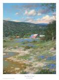 Best Barn In Texas (Deep in the Heart) Prints by Larry Dyke