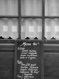 Cafe/Restaurant in the St. Germain Des Pres District, Rive Gauche, Paris, France Fotografie-Druck von Jon Arnold