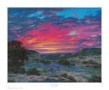 Heaven's Glory Print by Larry Dyke
