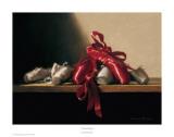 The Red Shoes Láminas por Deborah Bays