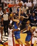 Dallas Mavericks v Miami Heat - Game One, Miami, FL - MAY 31: Dirk Nowitzki and Chris Bosh Photo by Issac Baldizon