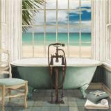 Oceanview I Poster by Elizabeth Medley