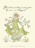 Shakespeare's Garden X (Daisy) Pôsters por Walter Crane