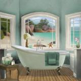 Oceanview II Prints by Elizabeth Medley