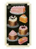 French Pastries III Posters