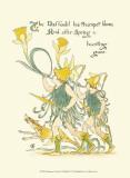 Shakespeare's Garden IV (Daffodil) Prints by Walter Crane